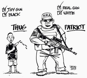 Protesting With Firearms Looks Very Different Depending On Your Race