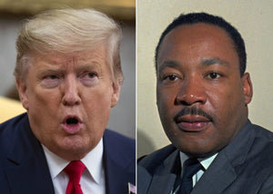 Donald Trump Jr. Tried To Make MLK Day All About His Dad And It Didn't Go Over Well