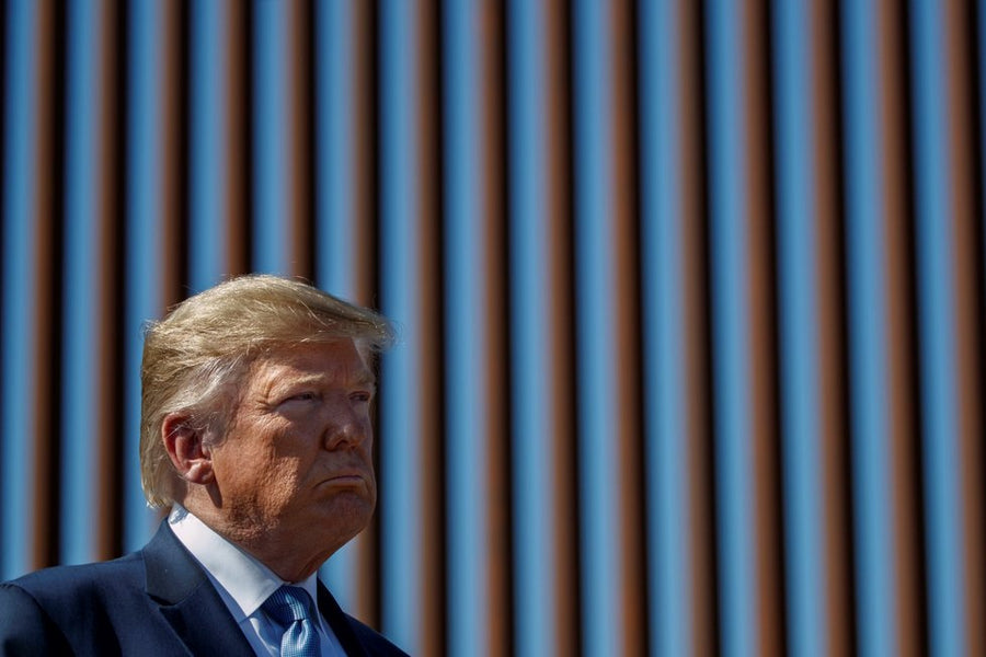 Smugglers are reportedly sawing  through new sections of Trump's border wall