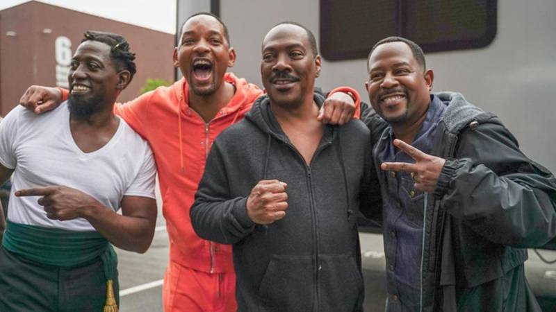 Will Smith, Eddie Murphy, Martin Lawrence And Wesley Snipes Come Together In Legendary Picture