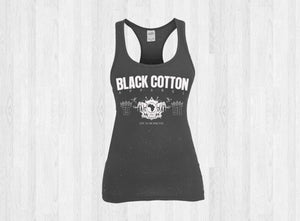 "Black Cotton ""Since 98 Original"" Womens Tank"