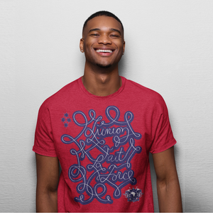 Haiti Motto Version 2 Shirt (RED)