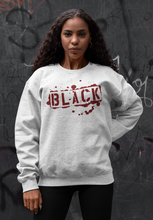 "Black Cotton ""BLACK TAG"" Crewneck - WHITE"