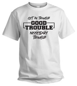 NECESSARY TROUBLE T-SHIRT (White)