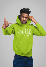 "Black Cotton ""BLACK TAG"" Hoodie - GREEN"