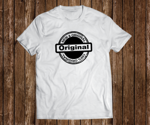"Black Cotton ""100% New and Original"" White"
