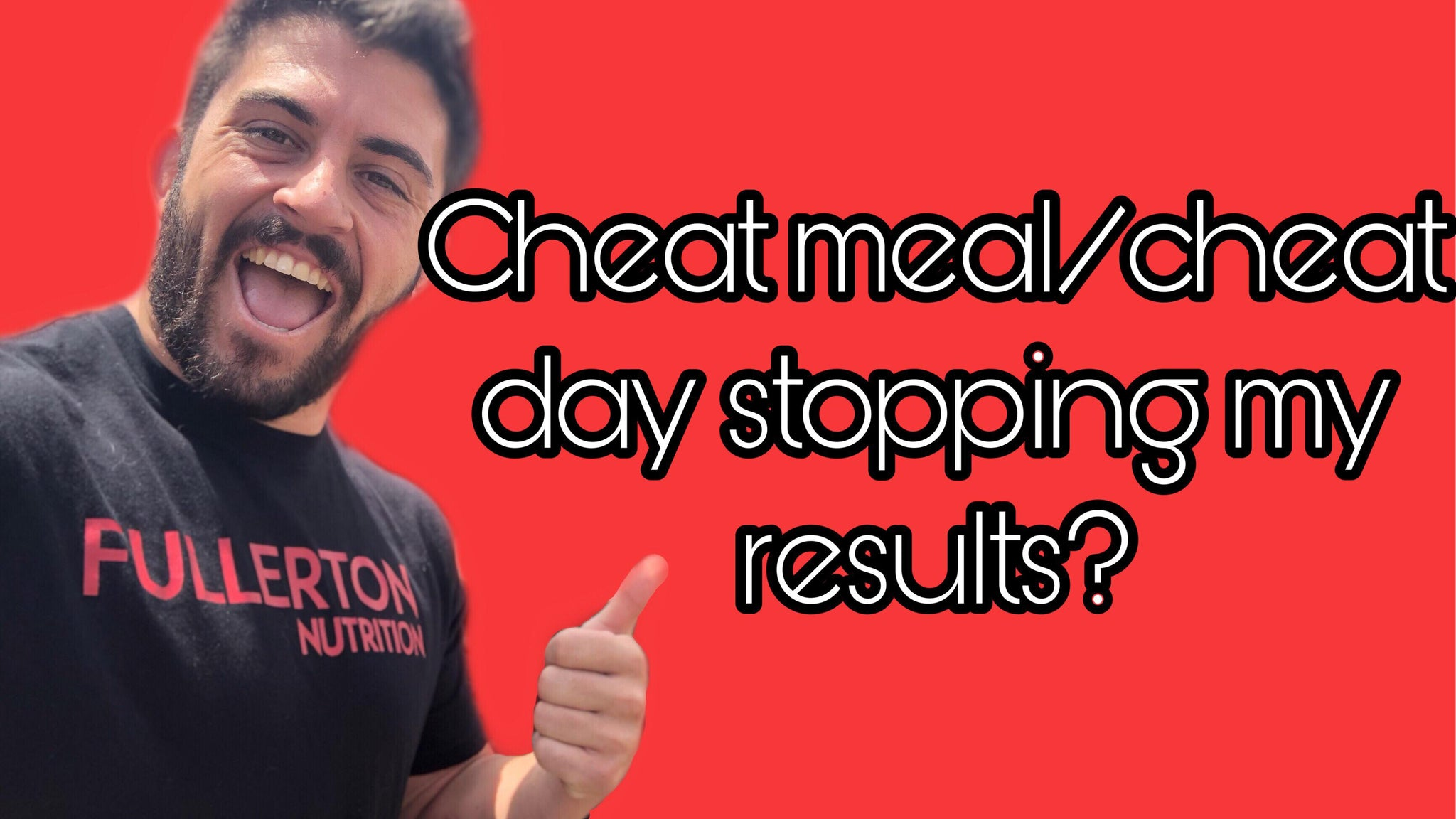 Is a cheat meal/day stopping my results