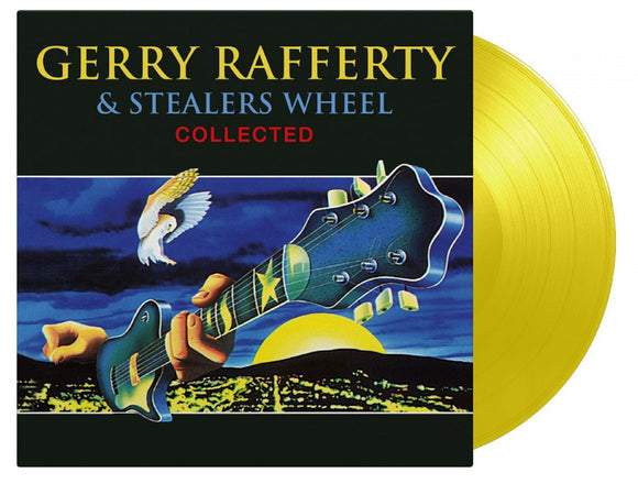 Gerry Rafferty & Stealers Wheel Collected 2 LP 180 Gram YELLOW Vinyl Ltd MOV Compilation PreOrder