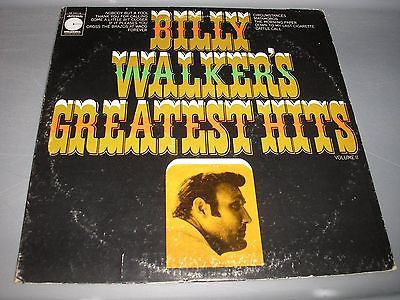 Billy Walker Billy Walker's Greatest Hits Vol II LP EX Vinyl