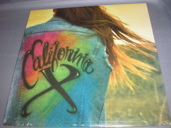 California X Self-Titled Debut LP Vinyl 2013, Don Giovanni BRAND NEW SEALED