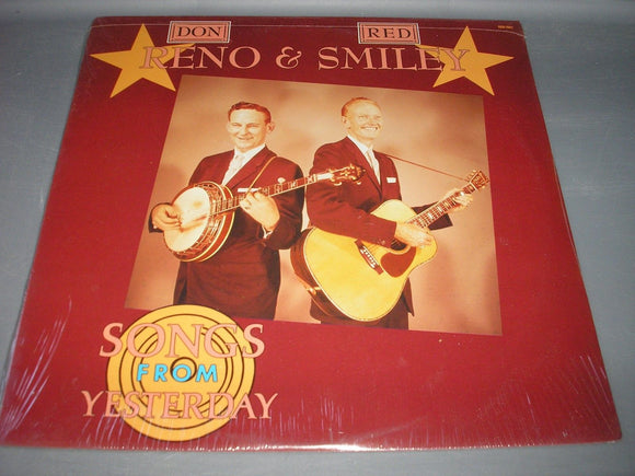Don Reno & Red Smiley Songs From Yesterday LP Vinyl 1988 REB-166 NEW SEALED