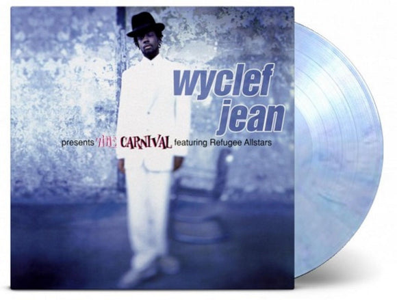 Wyclef Jean The Carnival 2 LP 180 Gram Blue / Purple Marbled Vinyl Ltd Ed MOV NEW SEALED