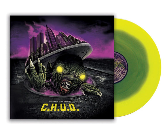 C.H.U.D. Soundtrack LP 180 Gram Green & Yellow Toxic Waste Puddle Vinyl NEW