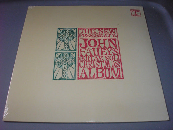John Fahey's Guitar Soli Christmas Album The New Possibility LP Vinyl NEW SEALED