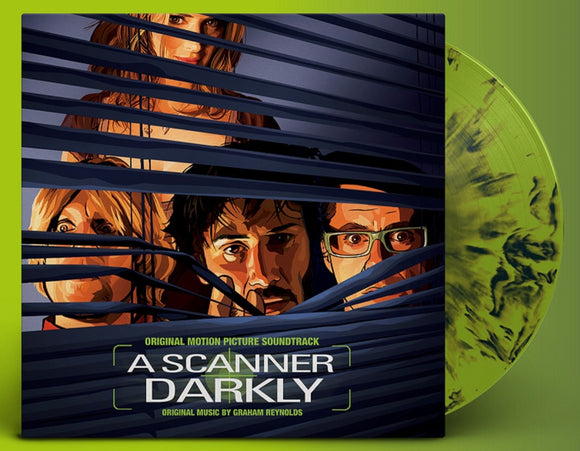 A Scanner Darkly Soundtrack Graham Reynolds LP GREEN MARBLED Vinyl Ltd NEW