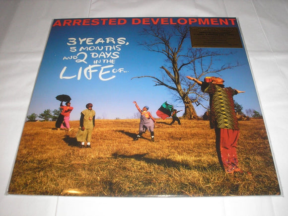 Arrested Development 3 Years, 5 Months 25th Ann LP 180g WHITE Vinyl Ltd NEW