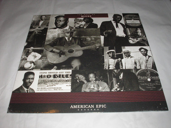 American Epic The Best of Blues Various Artists LP 180 Gram Vinyl Remastered NEW