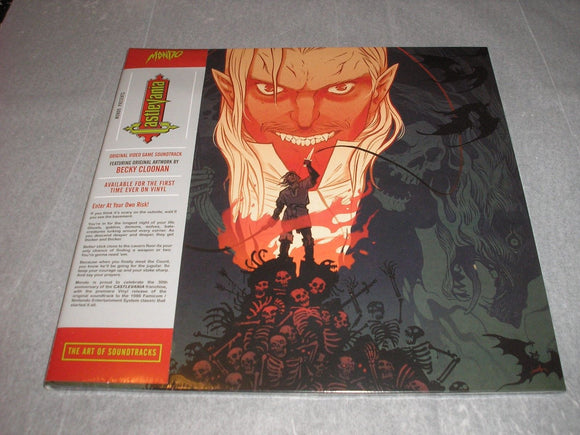 Castlevania Video Game Soundtrack LP Konami Kukeiha Club 180 Gram 10