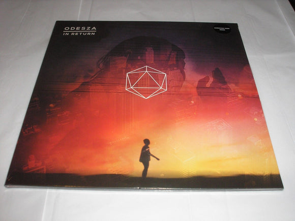 ODESZA In Return 2 LP Vinyl & Download Counter Records Import 2014 NEW SEALED