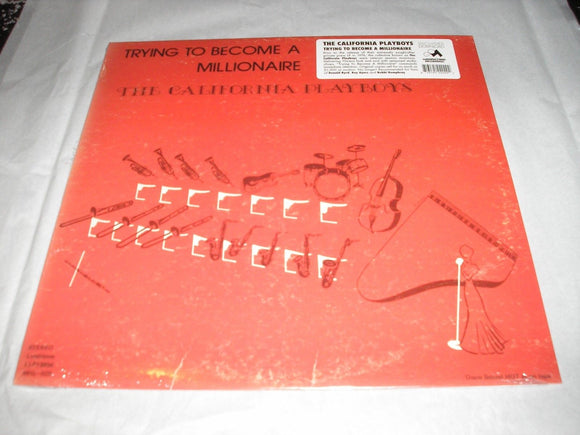 California Playboys Trying to Become a Millionaire LP Vinyl Reissue NEW SEALED
