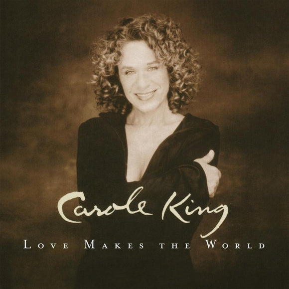 Carole King Love Makes the World LP 180 Gram 1st Time On Vinyl Import NEW SEALED