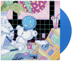 2064 Read Only Memories Video Game Soundtrack LP TURING BLUE Vinyl NEW SEALED