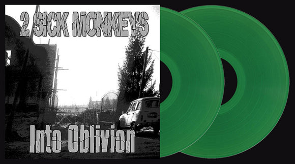 2 SICK MONKEYS INTO OBLIVION 2 LP Green Vinyl & Download EU Import NEW