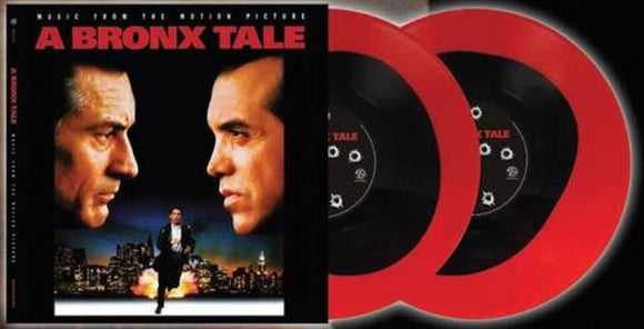 A Bronx Tale Music From The Motion Picture Soundtrack 2 LP Black & Red Pool of Blood Color Vinyl Ltd RSD 2017 NEW SEALED
