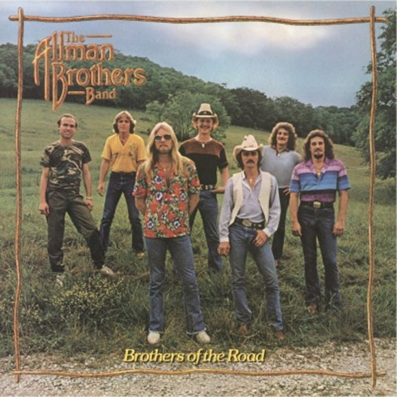 Allman Brothers Band Brothers Of The Road LP 180 Gram Audiophile Vinyl MOV Import NEW SEALED