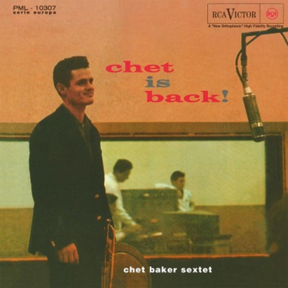 Chet Baker Chet Is Back! LP 180 Gram Audiophile Vinyl JAZZ MOV Import NEW SEALED