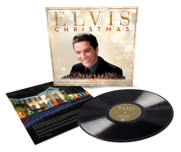 Christmas With Elvis Presley And The Royal Philharmonic Orchestra LP Vinyl NEW SEALED