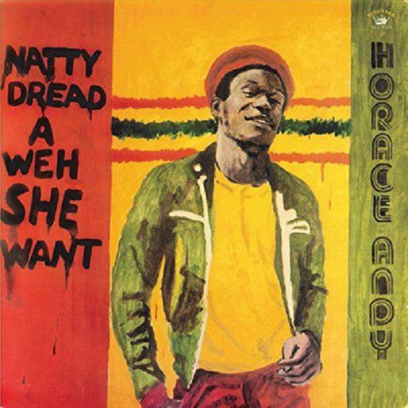 Andy Horace Natty Dread A Weh She Went LP Vinyl UK Import Reggae New
