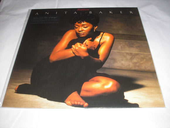 Anita Baker Rapture LP 180 Gram Audiophile Vinyl SOUL R&B MOV Import NEW SEALED