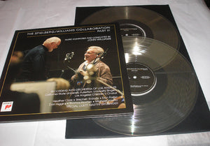 JOHN WILLIAMS & STEVEN SPIELBERG The Spielberg / Williams Collaboration Part III 2 LP 180 Gram CLEAR Vinyl Ltd MOV NEW SEALED
