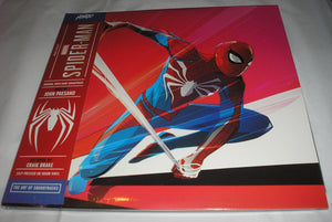 Marvel's Spider-Man Original Video Game Soundtrack 2 LP 180 Gram BLACK Vinyl Mondo NEW SEALED
