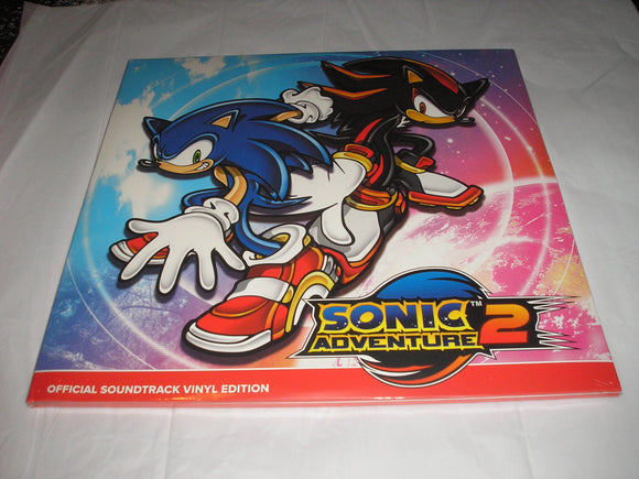 SONIC ADVENTURE 2 VIDEO GAME SOUNDTRACK 2 LP 180 Gram RED & BLUE COLOR Vinyl NEW SEALED