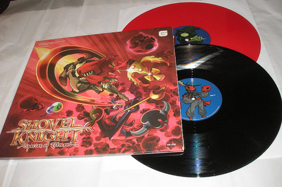 Shovel Knight Specter of Torment Video Game Soundtrack 2 LP BLACK AND RED Color Vinyl & Download NEW SEALED