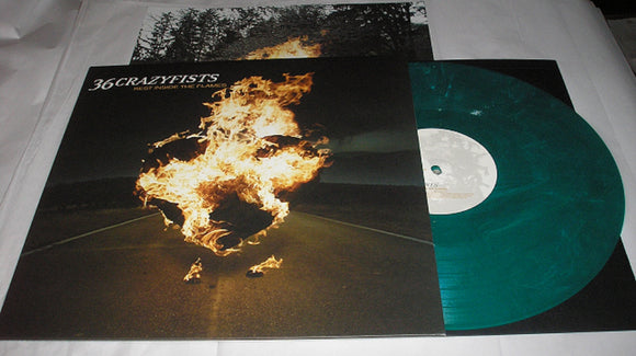 36 Crazyfists Rest Inside The Flames LP 180 Gram GREEN Mixed Vinyl Ltd MOV NEW SEALED
