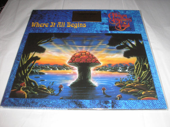 Allman Brothers Band Where It All Begins 2 LP 180 Gram Audiophile Vinyl MOV Import ETCHED NEW SEALED