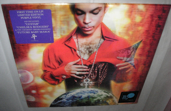 Prince Planet Earth LP 150 Gram PURPLE Colored First Time on Vinyl Lenticular Cover Limited Ed NEW SEALED