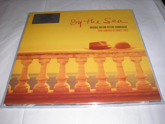 By the Sea Soundtrack Gabriel Yared LP 180g GOLD Colored Vinyl Ltd MOV Import NEW SEALED