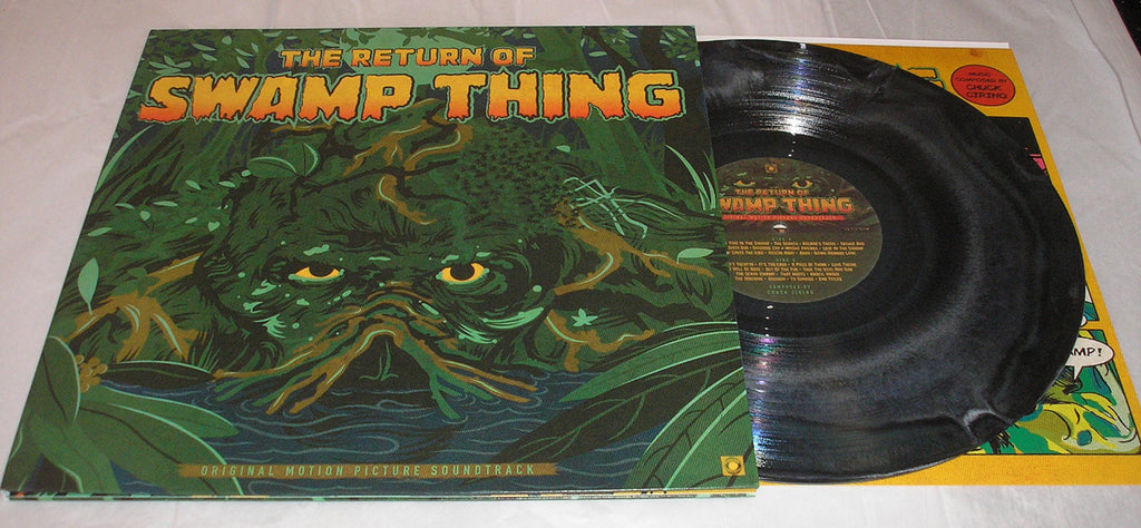 The return of swamp thing soundtrack lp swampy green colored vinyl b edsawesomesounds