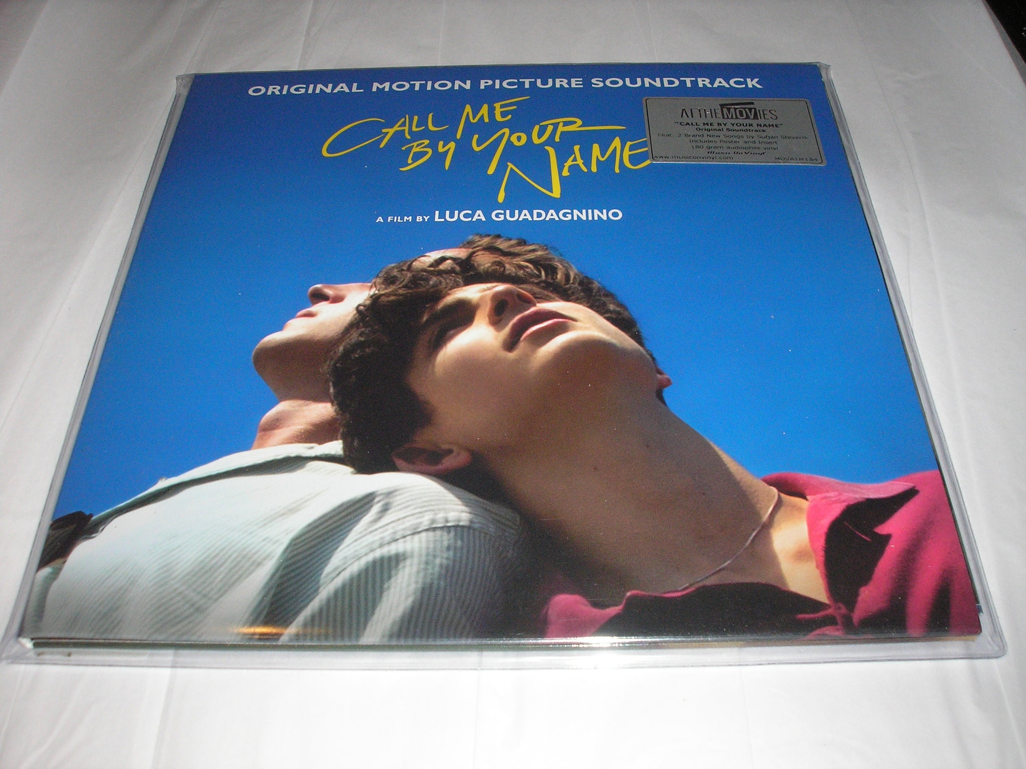 Call Me By Your Name Soundtrack 2 Lp 180 Gram Black Vinyl Mov Import