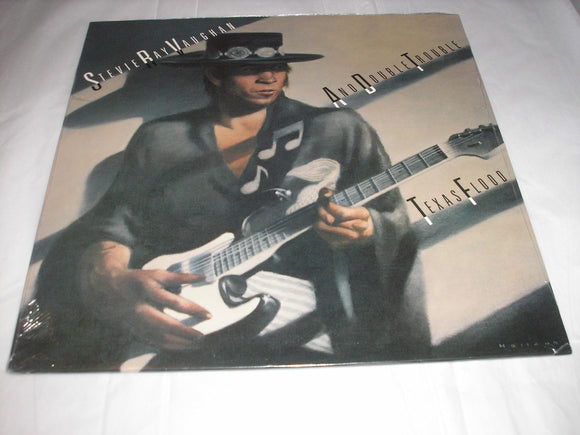 Stevie Ray Vaughan Texas Flood LP Vinyl Epic Reissue NEW SEALED