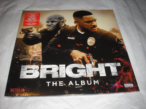 Bright The Album Soundtrack 2 LP Vinyl & Download Netflix Sci-Fi Movie NEW SEALED
