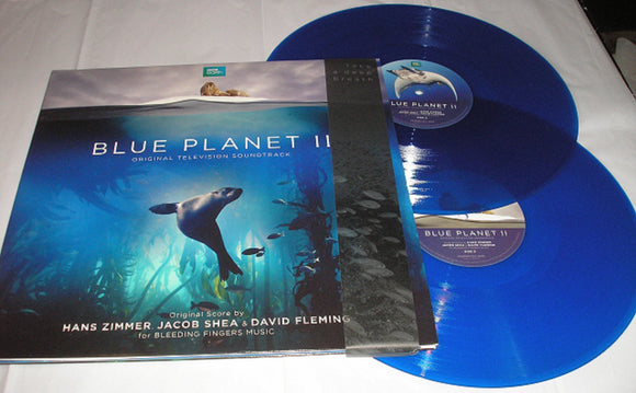 Blue Planet II Soundtrack 2 LP BLUE Vinyl BBC Series Hans Zimmer RSD 2018 NEW