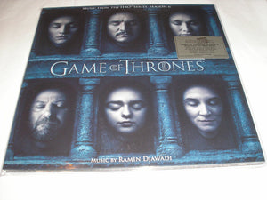 Game of Thrones Soundtracks Seasons 4, 5 & 6 180 Gram COLOR Vinyl Ltd Num MOV NEW SEALED