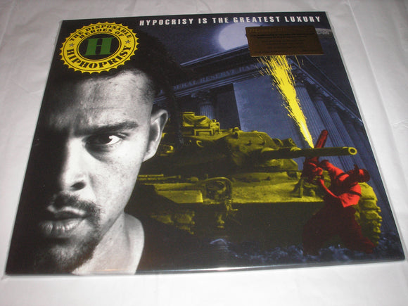 The Disposable Heroes of Hiphoprisy Hypocrisy 2 LP 180 Gram Vinyl Hip-Hop MOV NEW SEALED