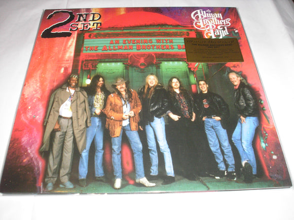 Allman Brothers Band An Evening with 2nd Set 2 LP 180 Gram Audiophile Vinyl MOV Import NEW SEALED