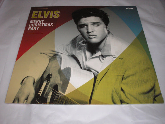 Elvis Presley Merry Christmas Baby LP Vinyl Compilation UK Import NEW SEALED